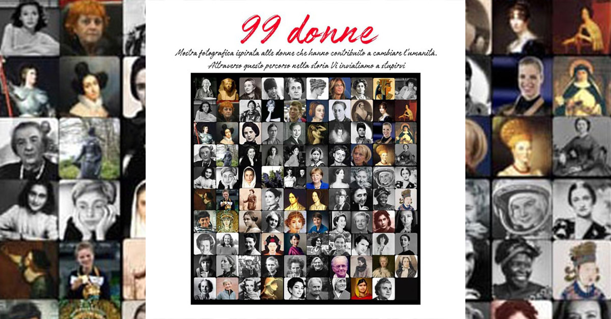 Mostra 99 Donne
