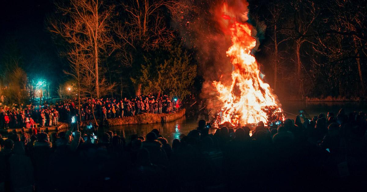 Incendio sul Fiume Stella