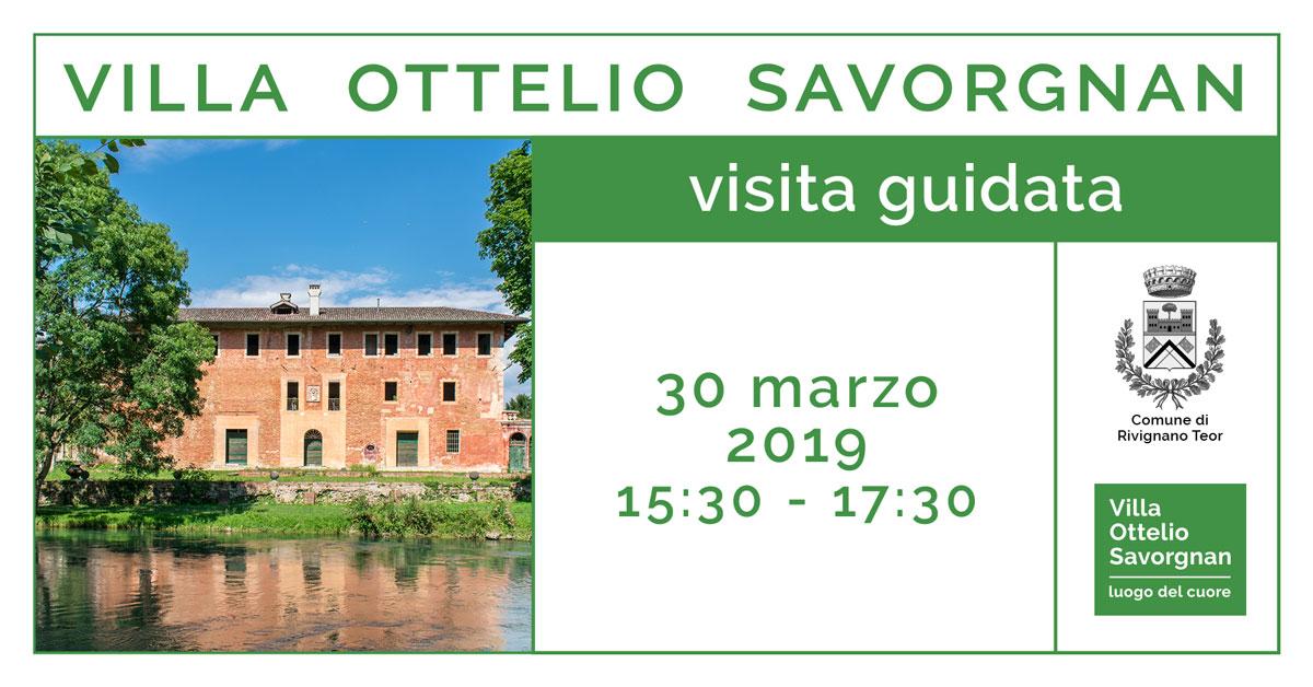 Visite Guidate a Villa Ottelio Savorgnan