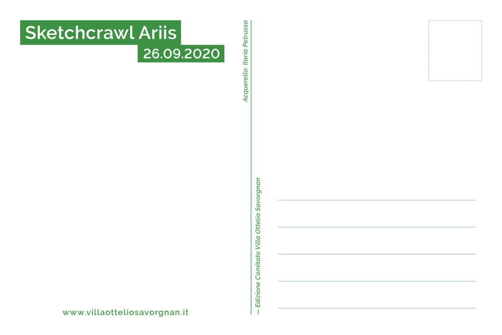sketchcrawl ariis 2020 cartolina